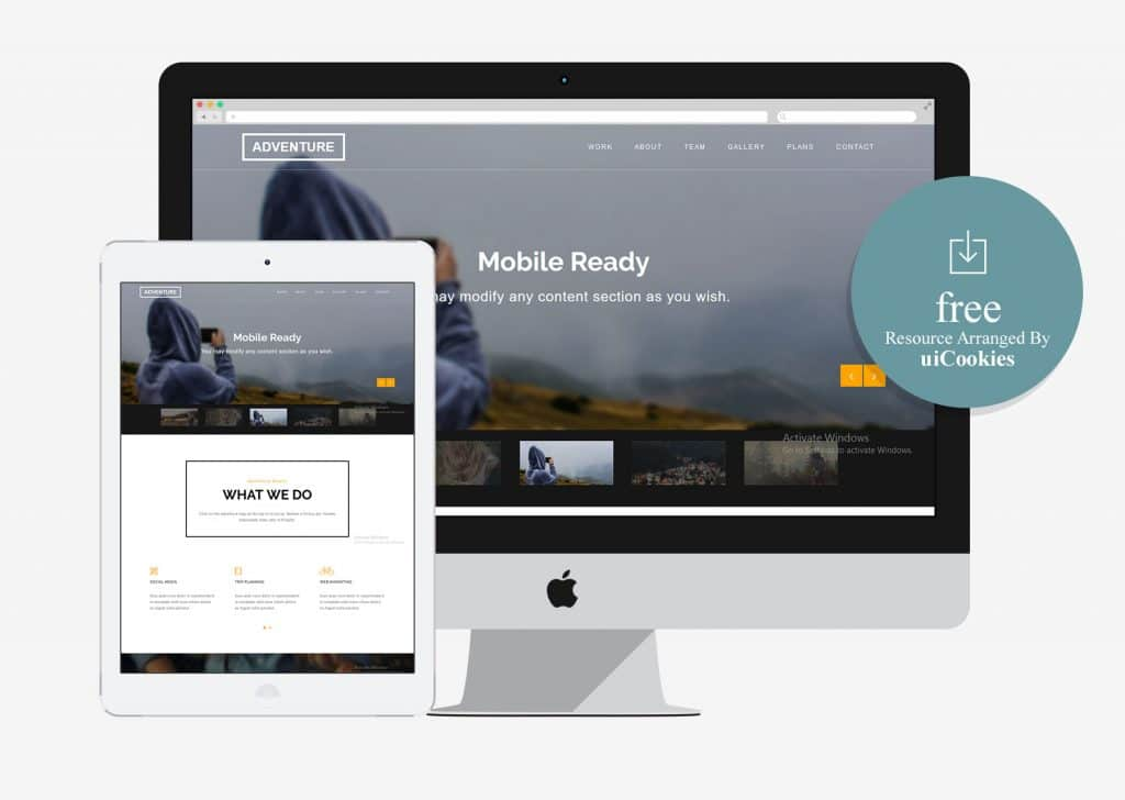 Adventure - Corporate Agency HTML Bootstrap Theme