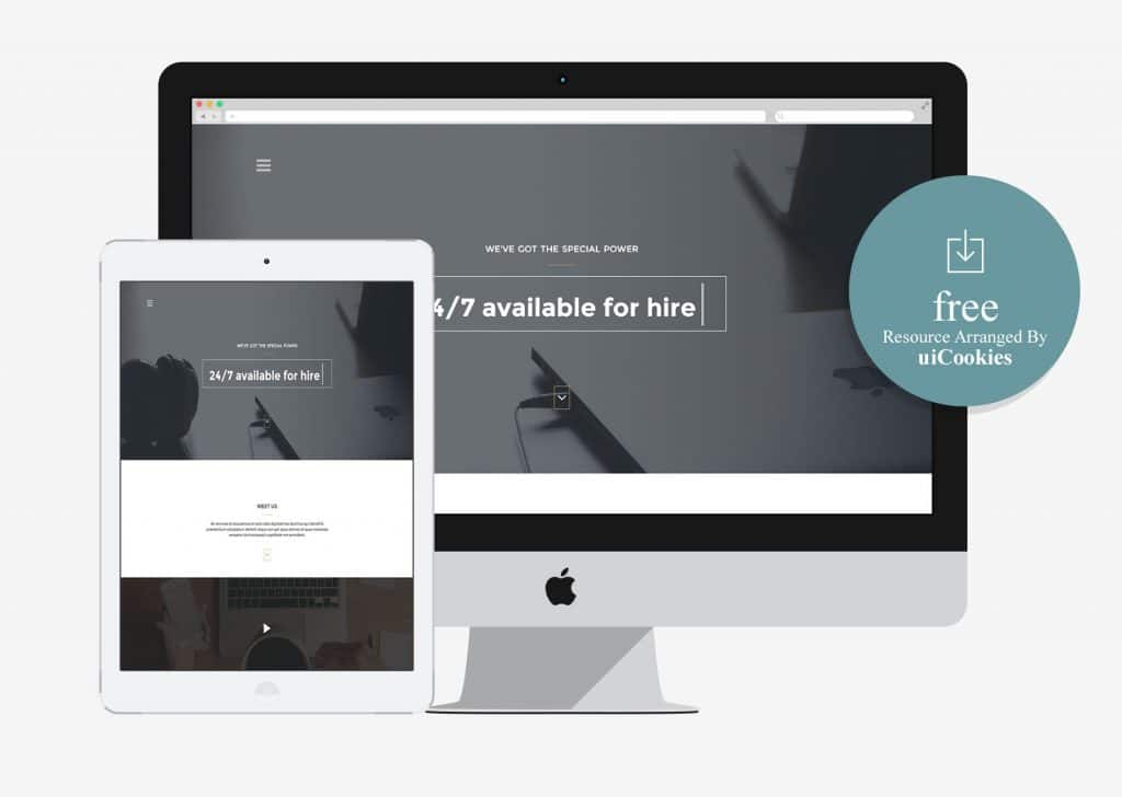 Arcadia - Bootstrap HTML Template for Agency Portfolio