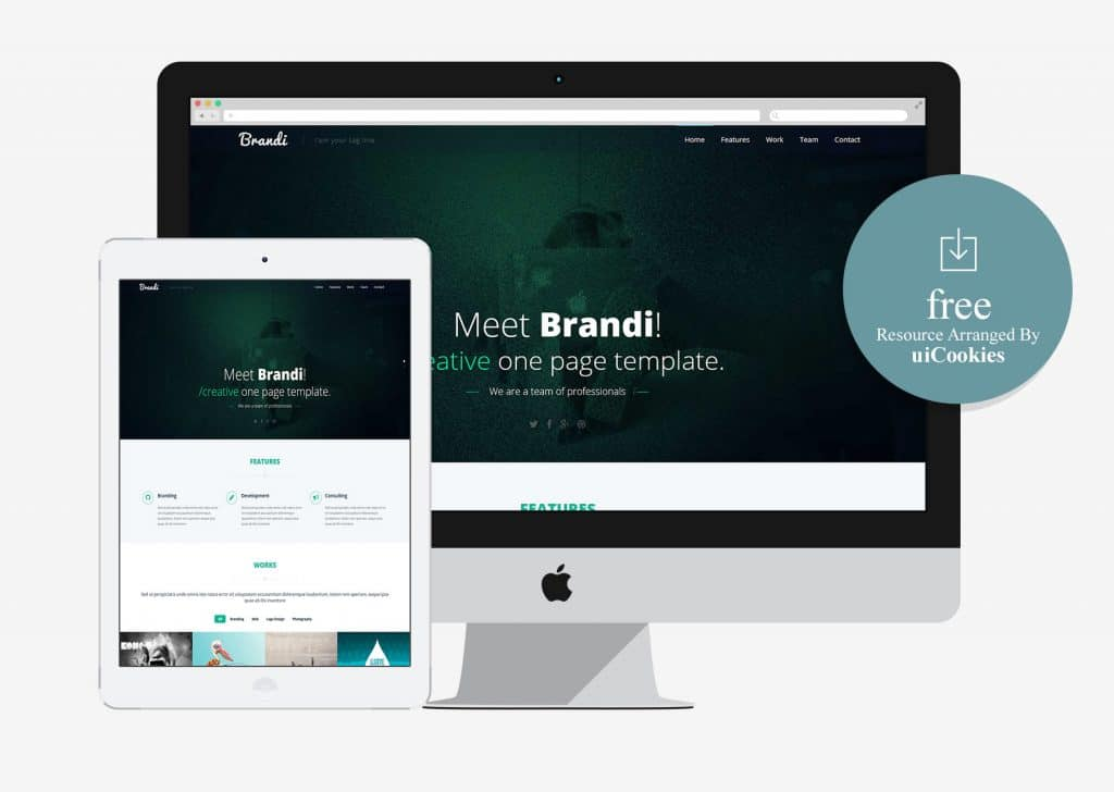Brandi - Free HTML5 Bootstraped Business Template