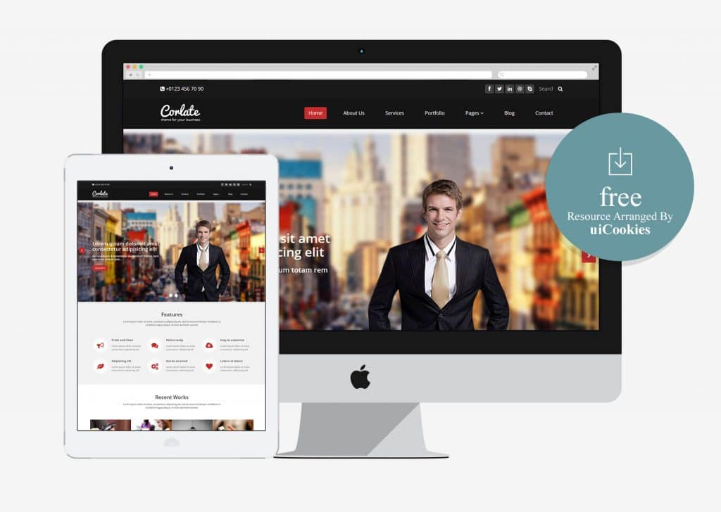 Integrity responsive business html5 template free download theme 2018 cheaphphosting Image collections