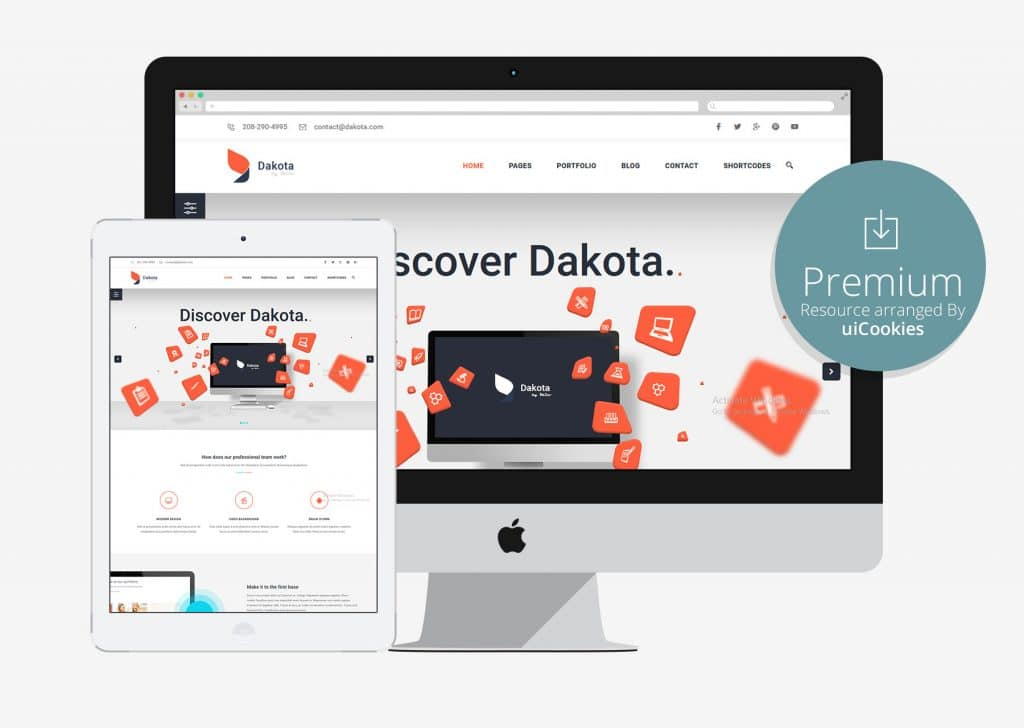 Dakota - Multi-Purpose Business HTML5 Template