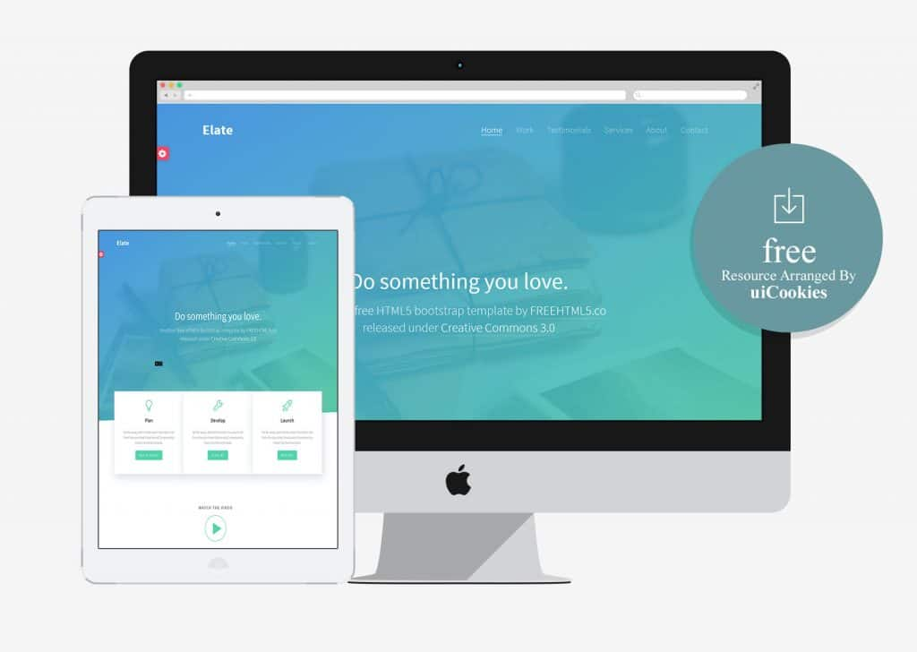 Elate - Developer Friendly HTML5 Bootstrap Template