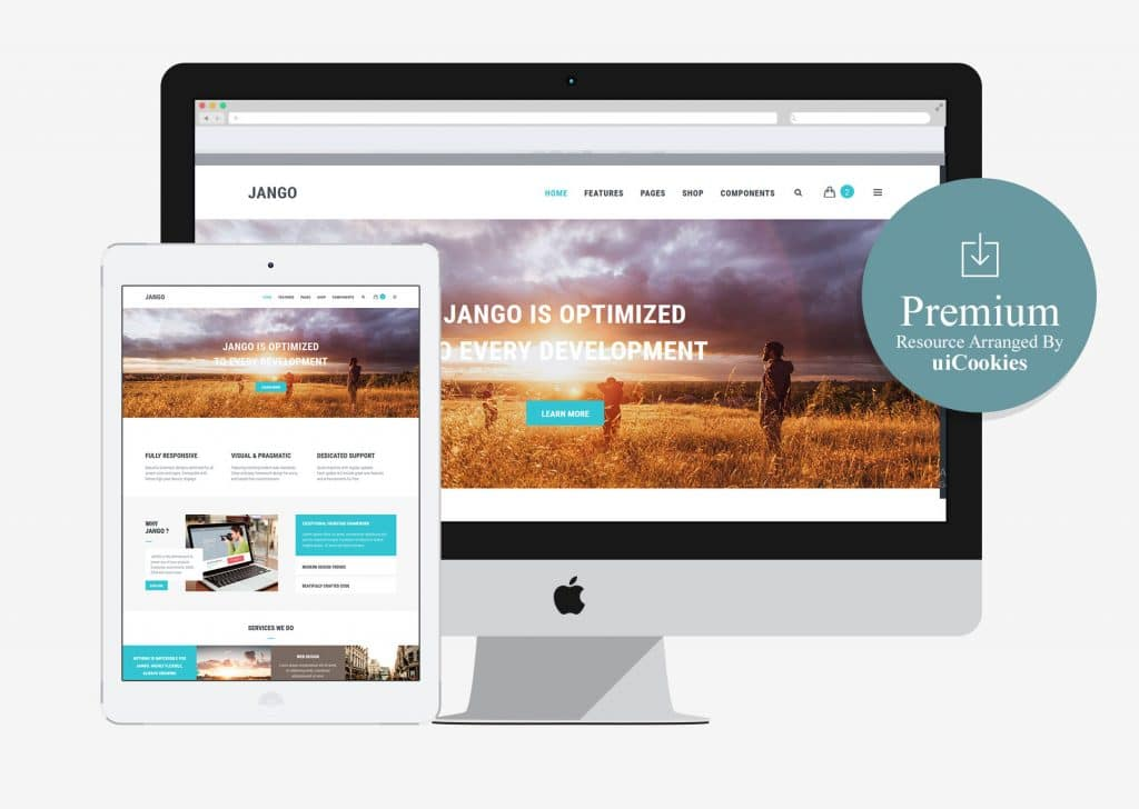 Jango | Highly Flexible Component Based HTML5 Template (Paid)