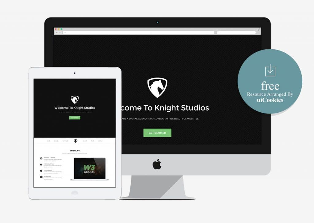 Knight-Simple-Free-Bootstrap-Theme-