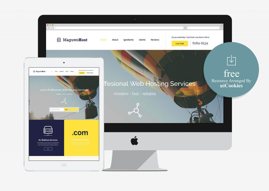 Maguwohost – Bootstrab HTML5 Hosting Business Template