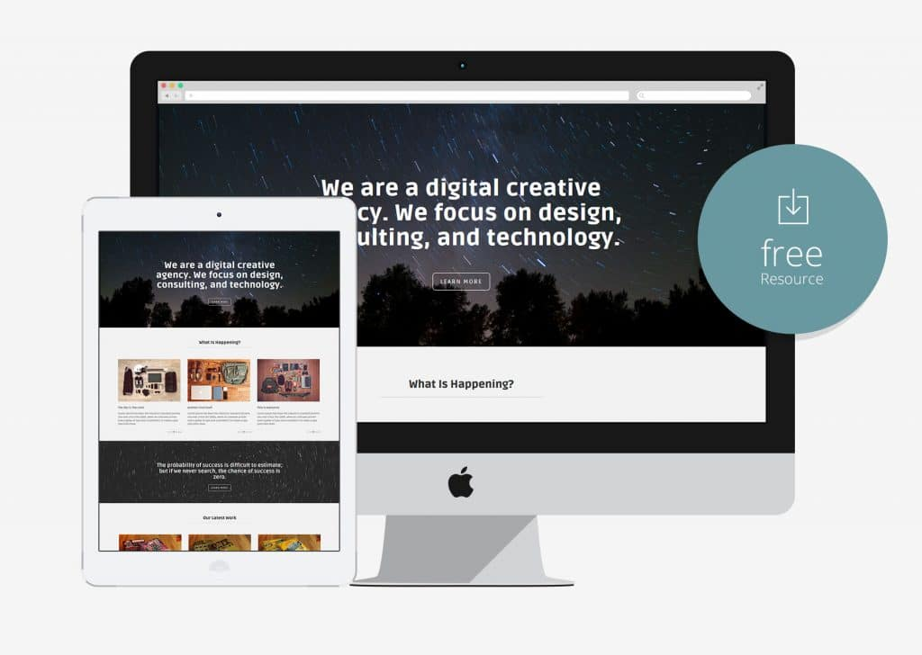 Marco – One Page HTML Business Website Template