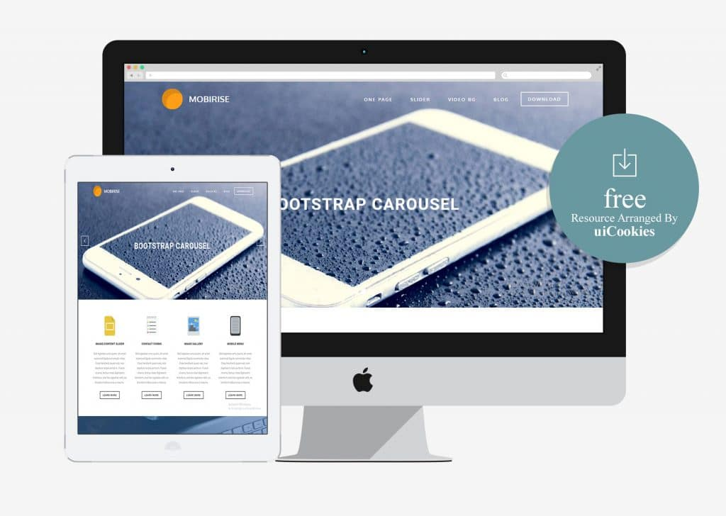 Mobirise - Free Business Bootstrap Template