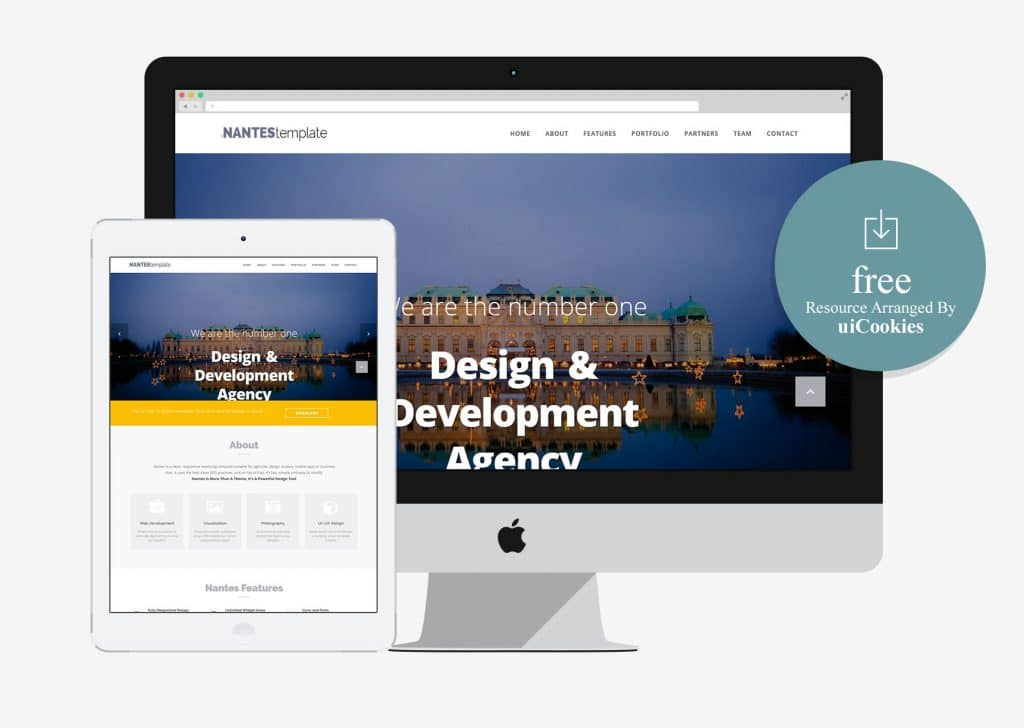 Nantes - Multipurpose Website Template for Business Agency