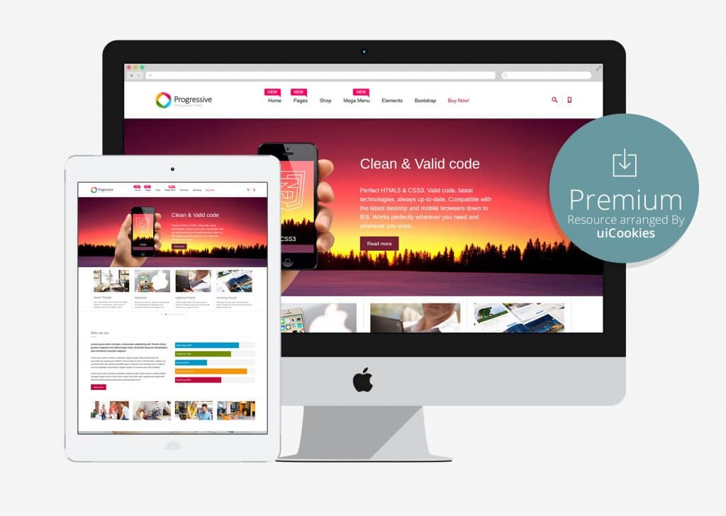 Progressive — Multipurpose Responsive Template