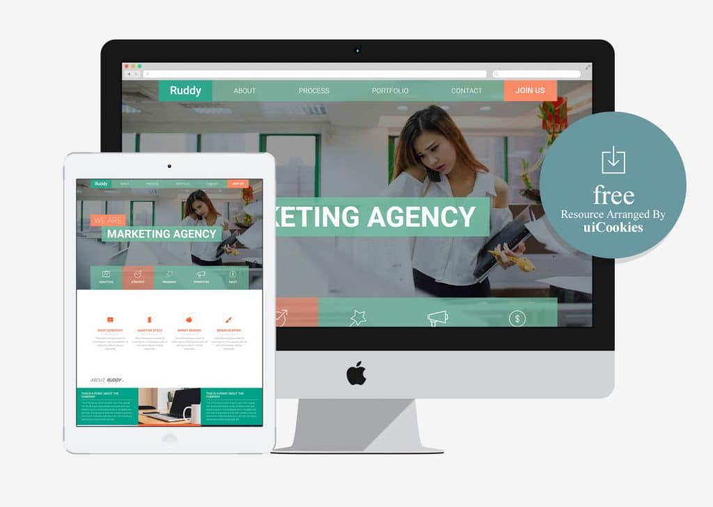 100 best responsive free one page bootstrap template with html5 of ruddy free one page bootstrap template cheaphphosting Images