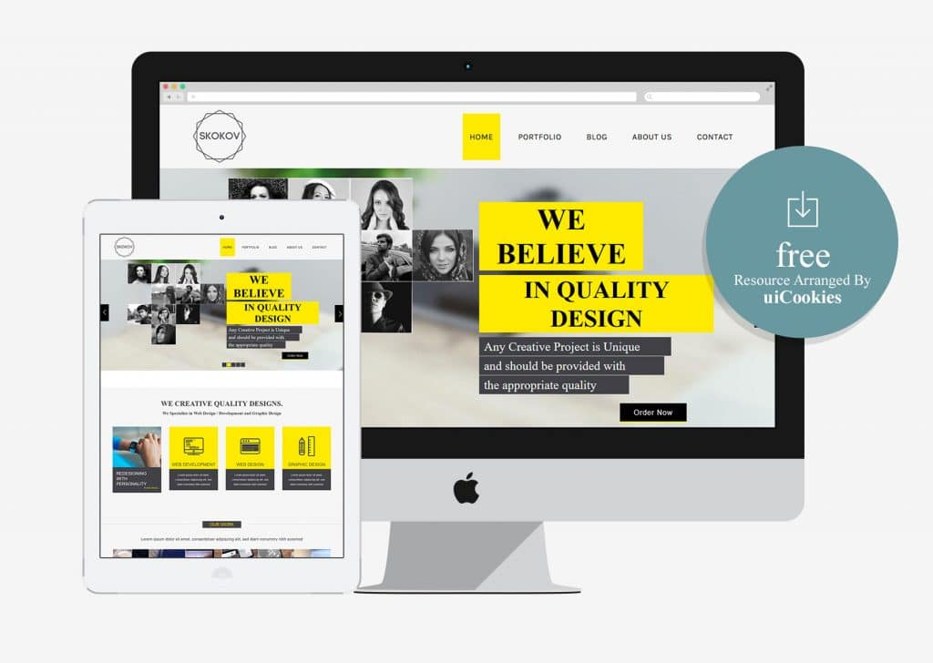 Skokov - Corporate Flat Responsive Web template