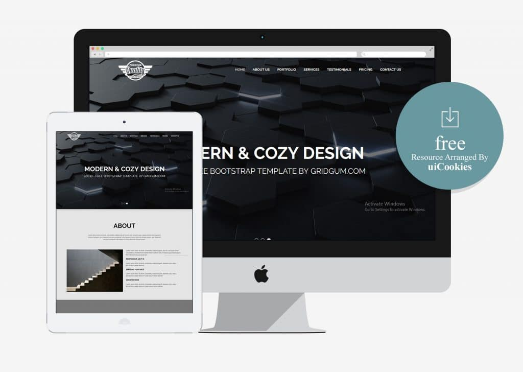 Solid – Bootstrap Professional Business Template