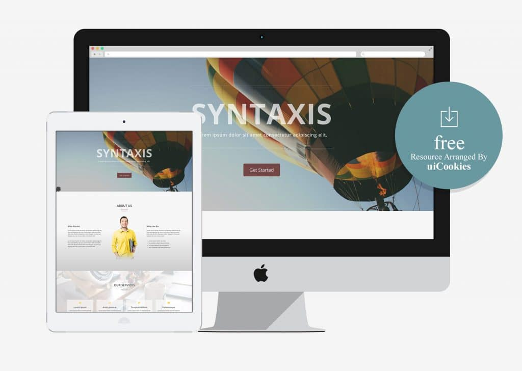 Syntaxis – Bootstrap One Page Parallax Template