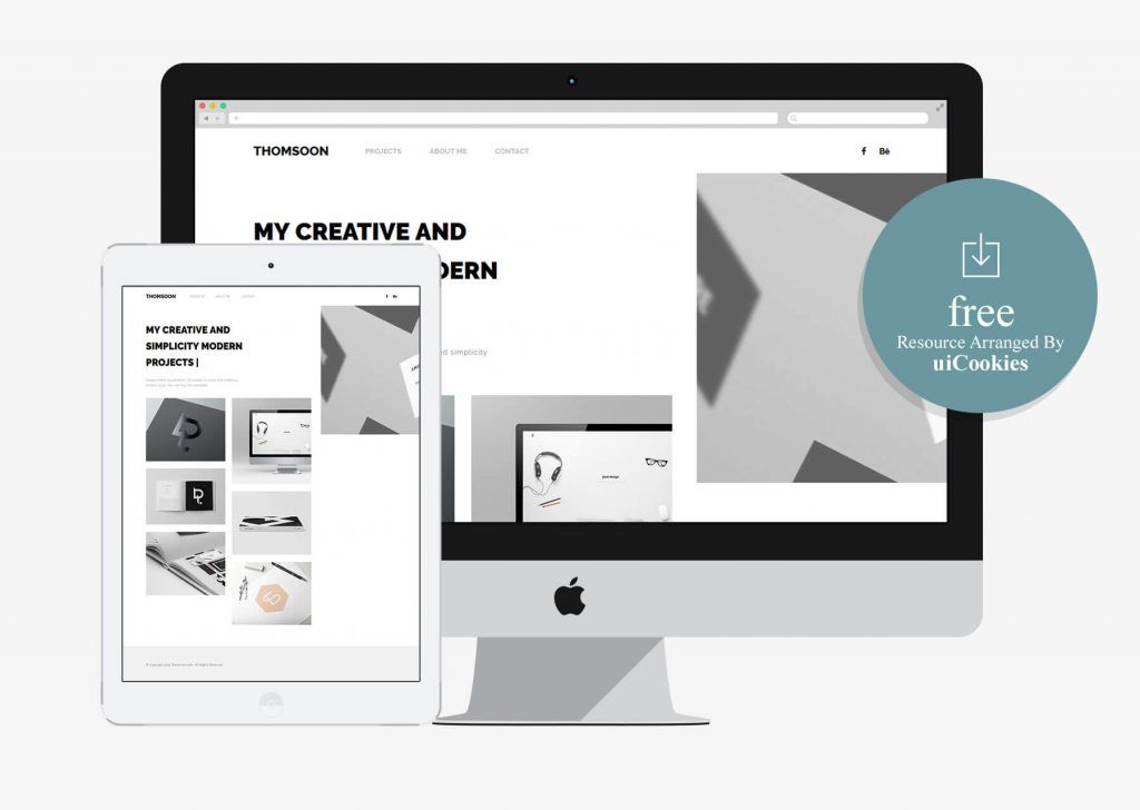 Thomsoon – Free Bootstrap Portfolio Template