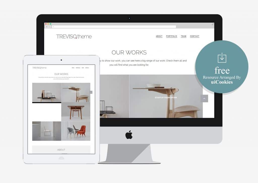 Treviso - Clean Portfolio Bootstrap Theme