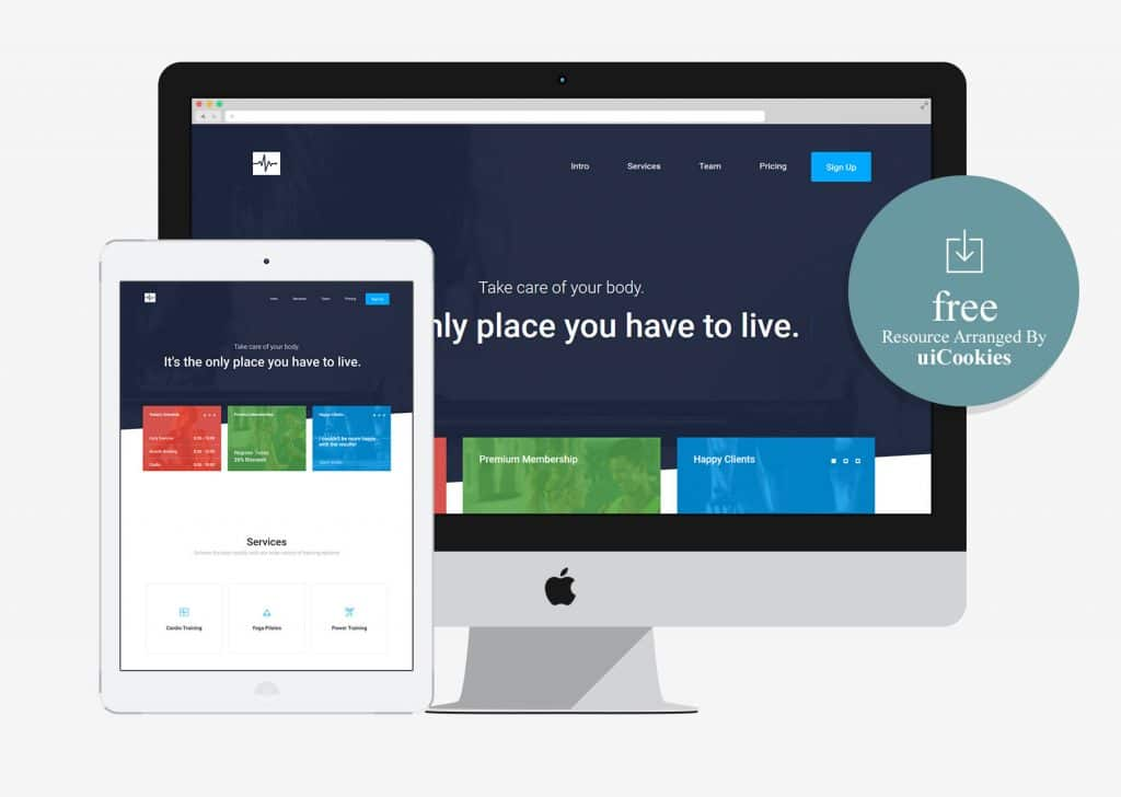 Valet - Multi-Purpose Free HTML5 Bootstrap Template