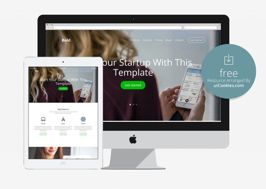 Bold - Startup Responsive Bootstrap Template
