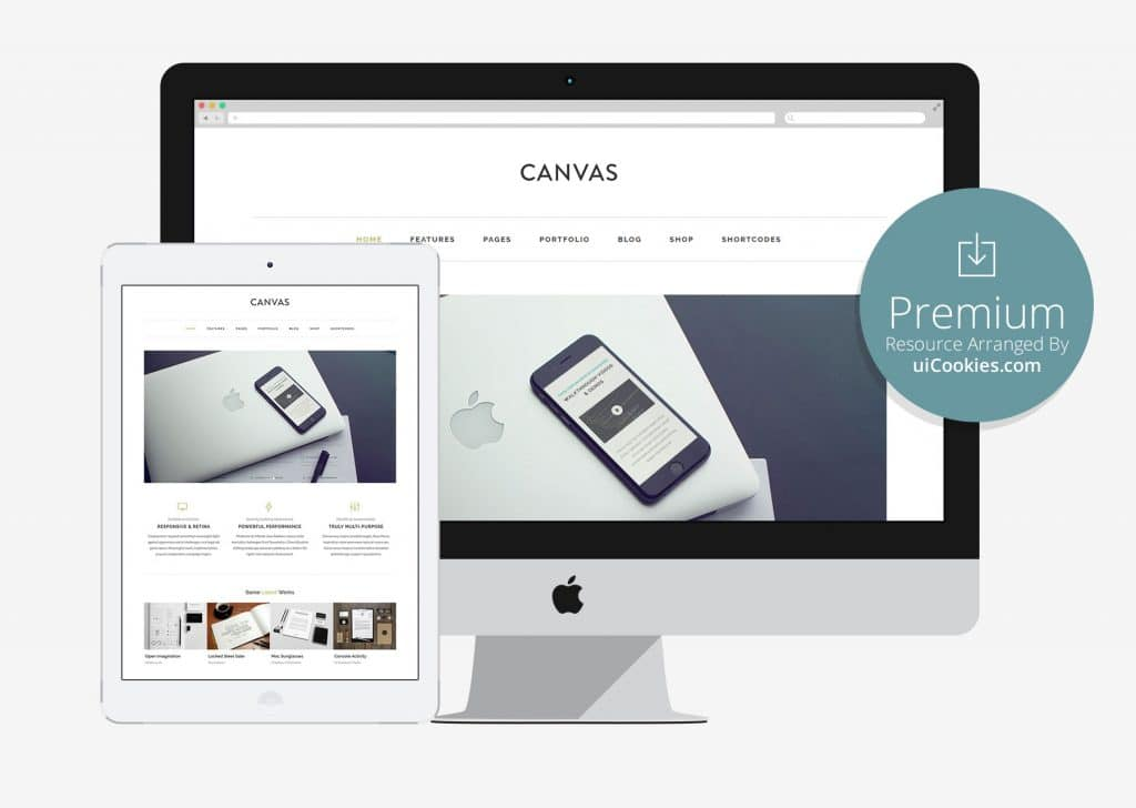 Canvas - Bootstrap Corporate Profile Website Template
