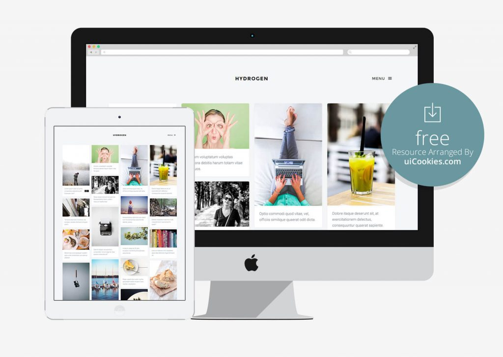 Hydrogen - Bootstrap Photography Studio Website Template