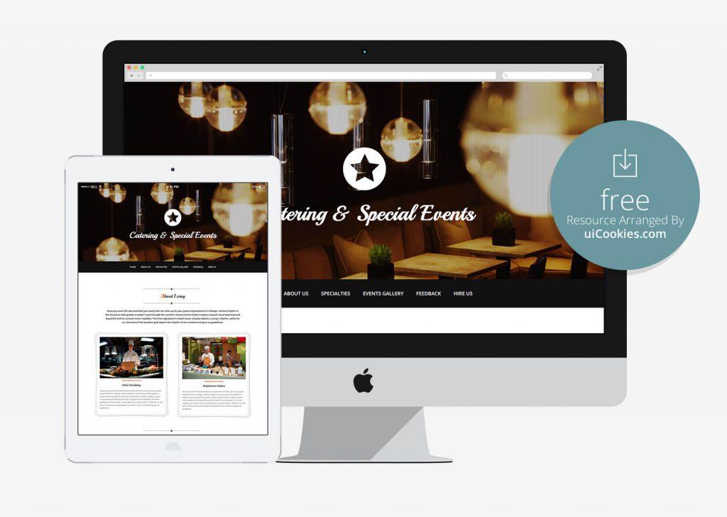 Leroy - Bootstrap Restaurant Website Template
