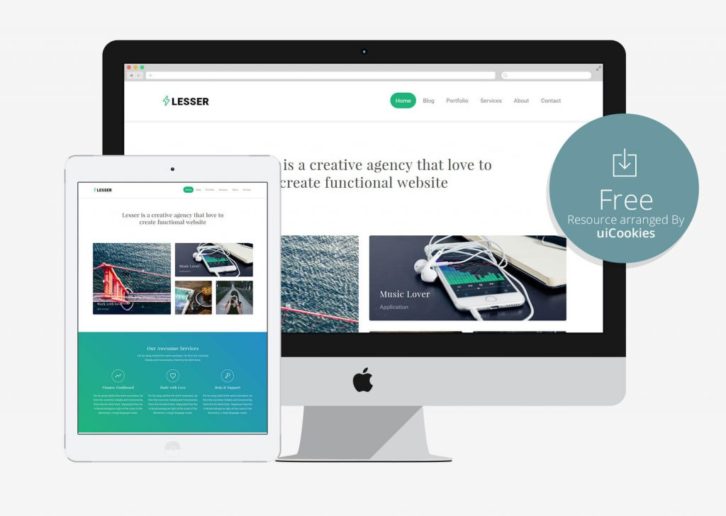 Lesser-Corporate-free-bootstrap-responsive-template