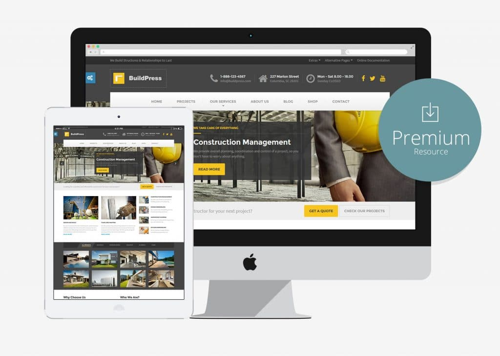 Buildpress Construction Business Html5 Bootstrap Template