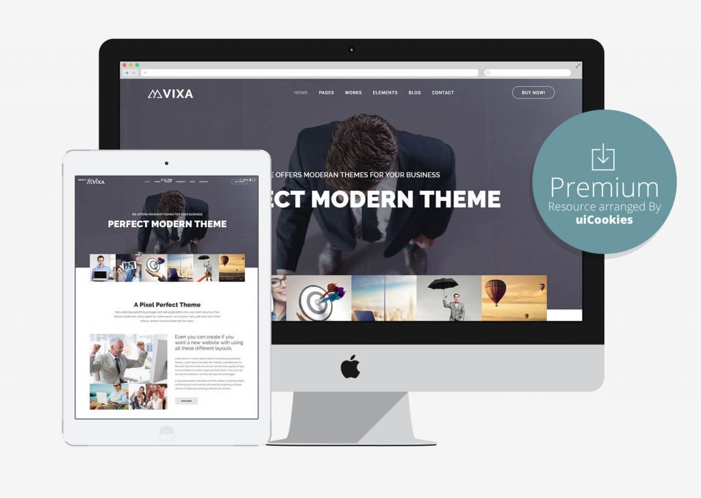 Top 50 business corporate bootstrap responsive html5 css3 website vixa accmission Image collections