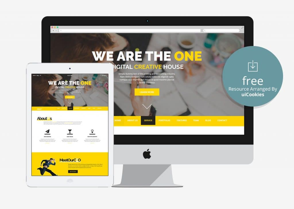 websites templates free download html