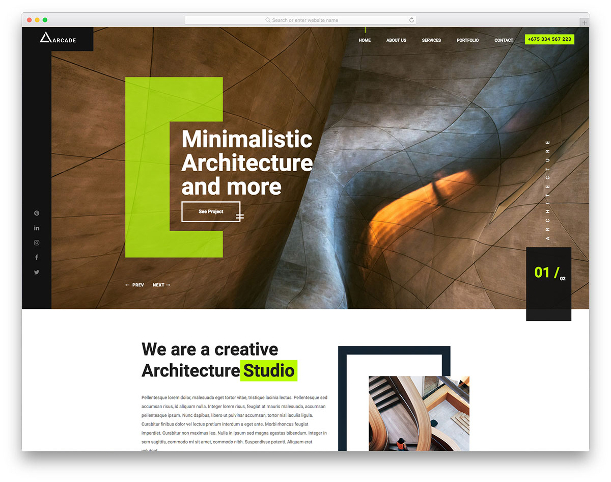 10 free bootstrap construction company website templates 2018 demo download toneelgroepblik Images