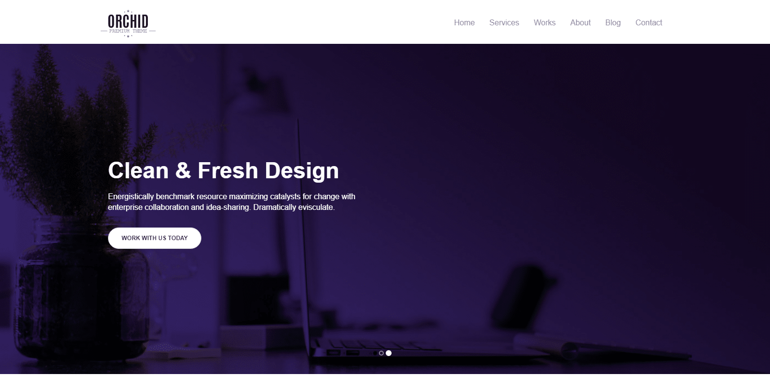 orchid-single-page-website-template