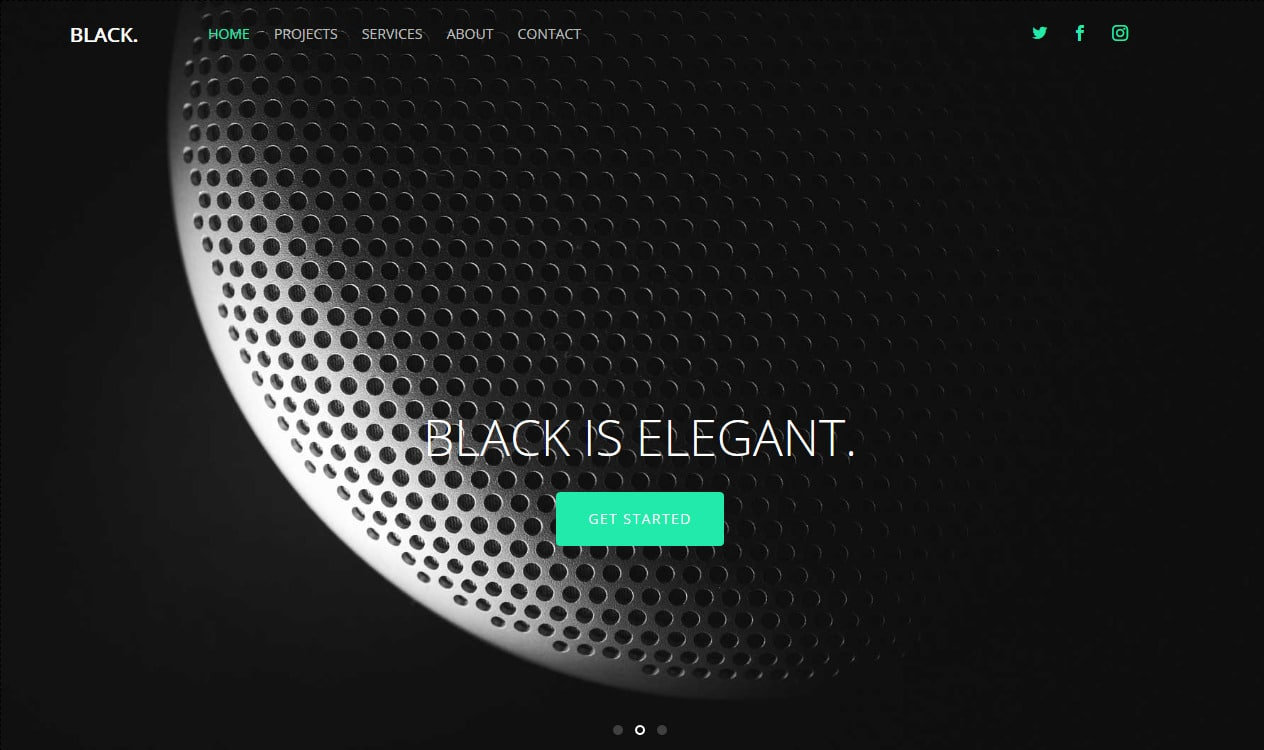 Black-free-HTML5-website-templates