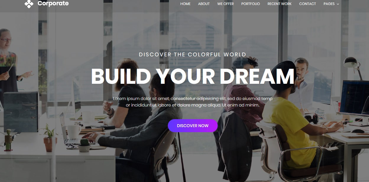 Corporate-free-HTML5-website-templates