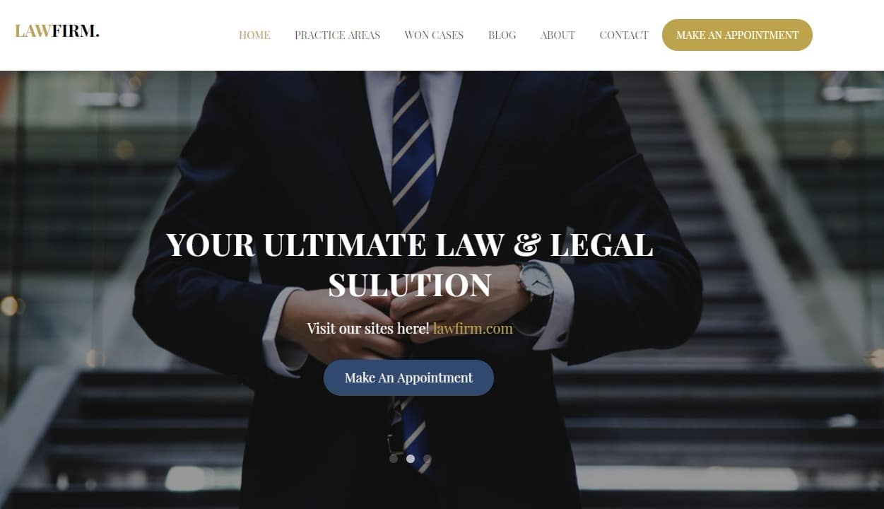 Lawfirm-free-simple-website-template