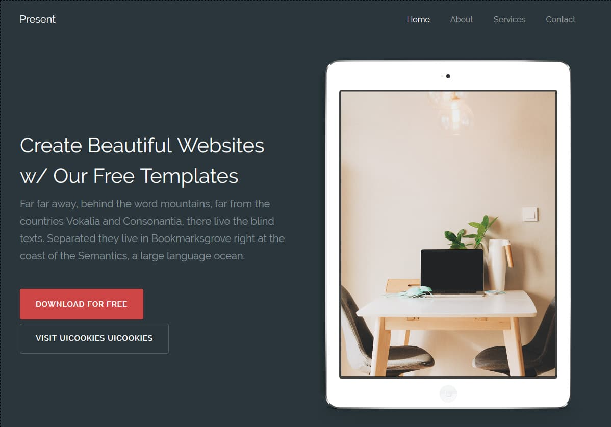 20 Free Html5 Website Templates