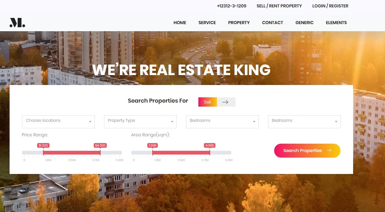 Real-Estate-free-simple-website-template