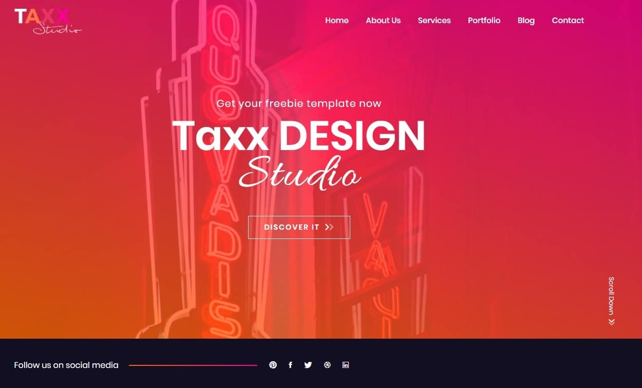 Taxx-free-simple-website-templates