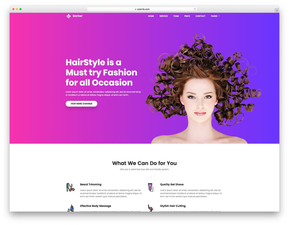 barber-free-landing-page-templates
