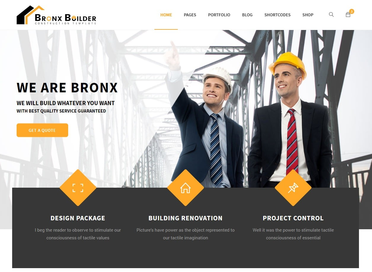 bronx-html-construction-template