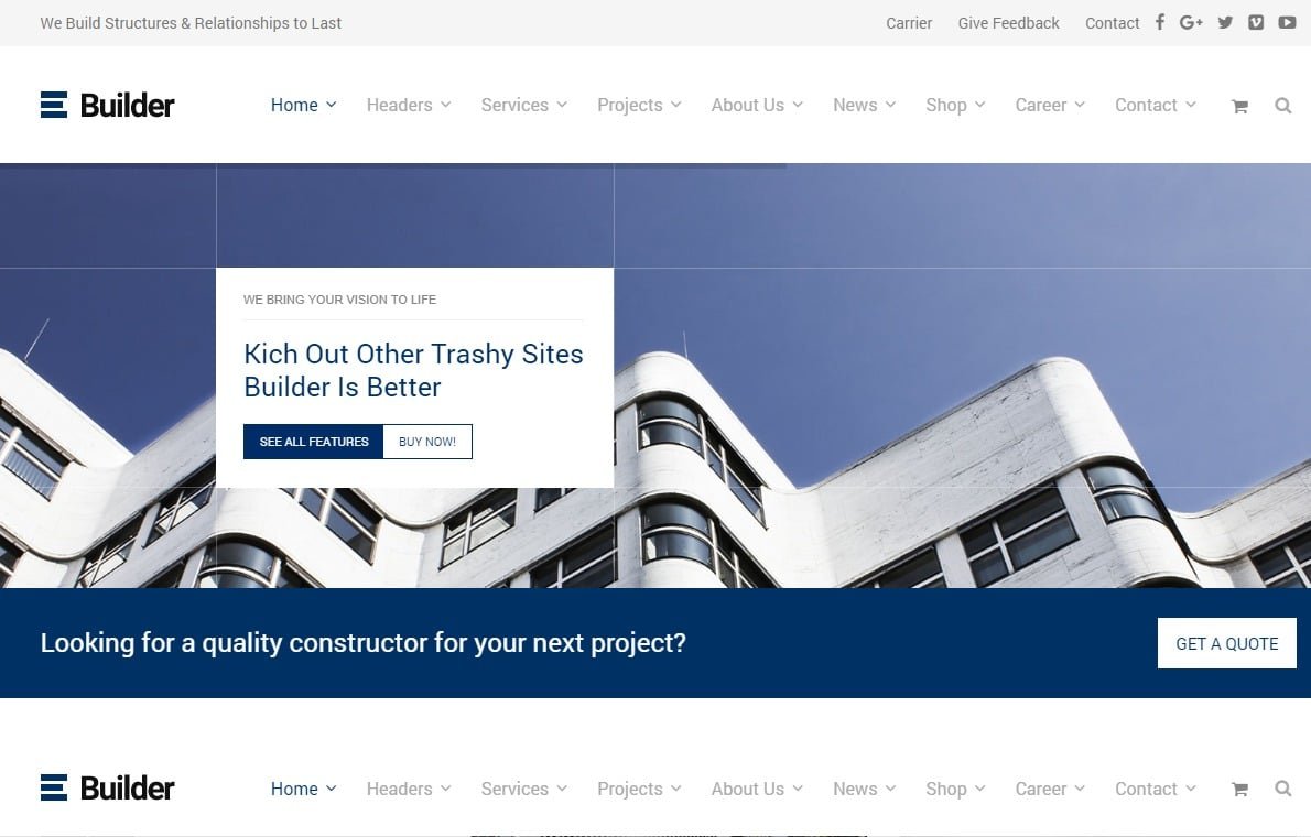 builder-html-construction-template