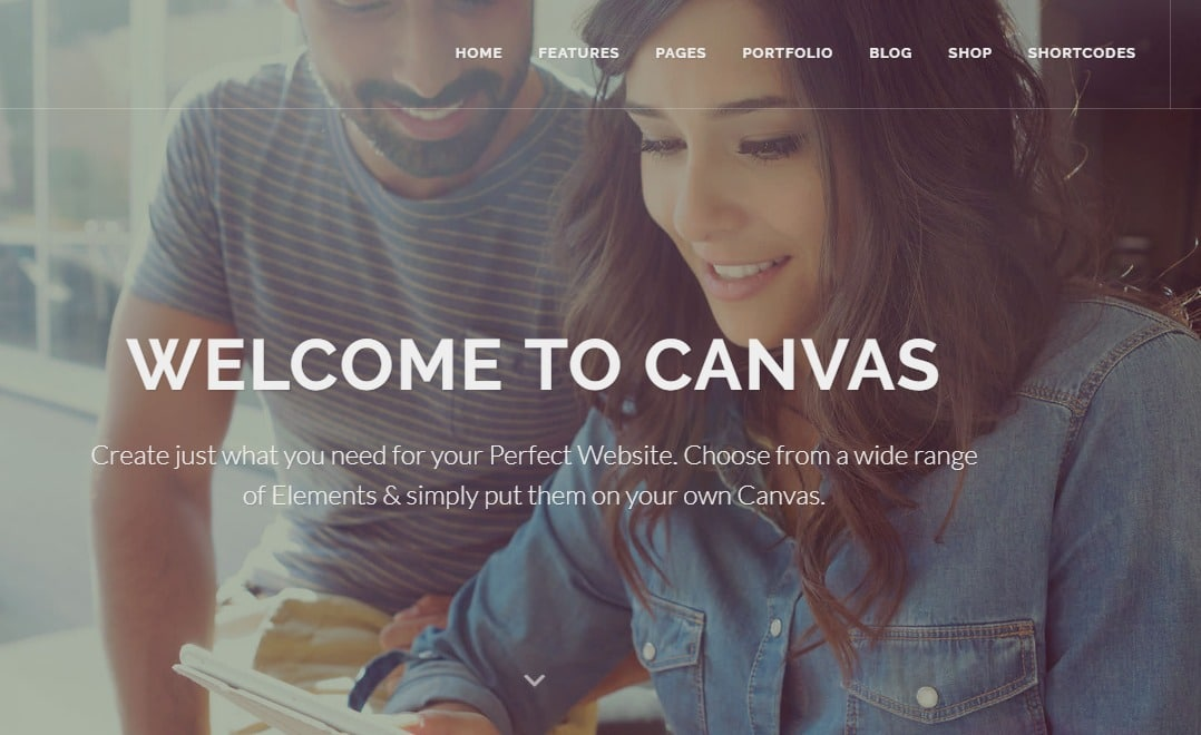 canvas-business-website-html-template