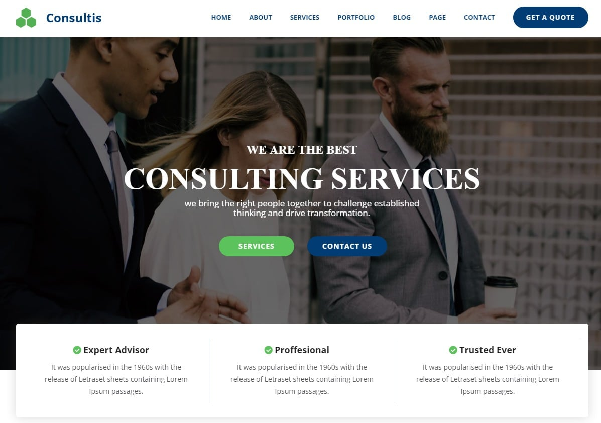 consultis-business-website-html-template
