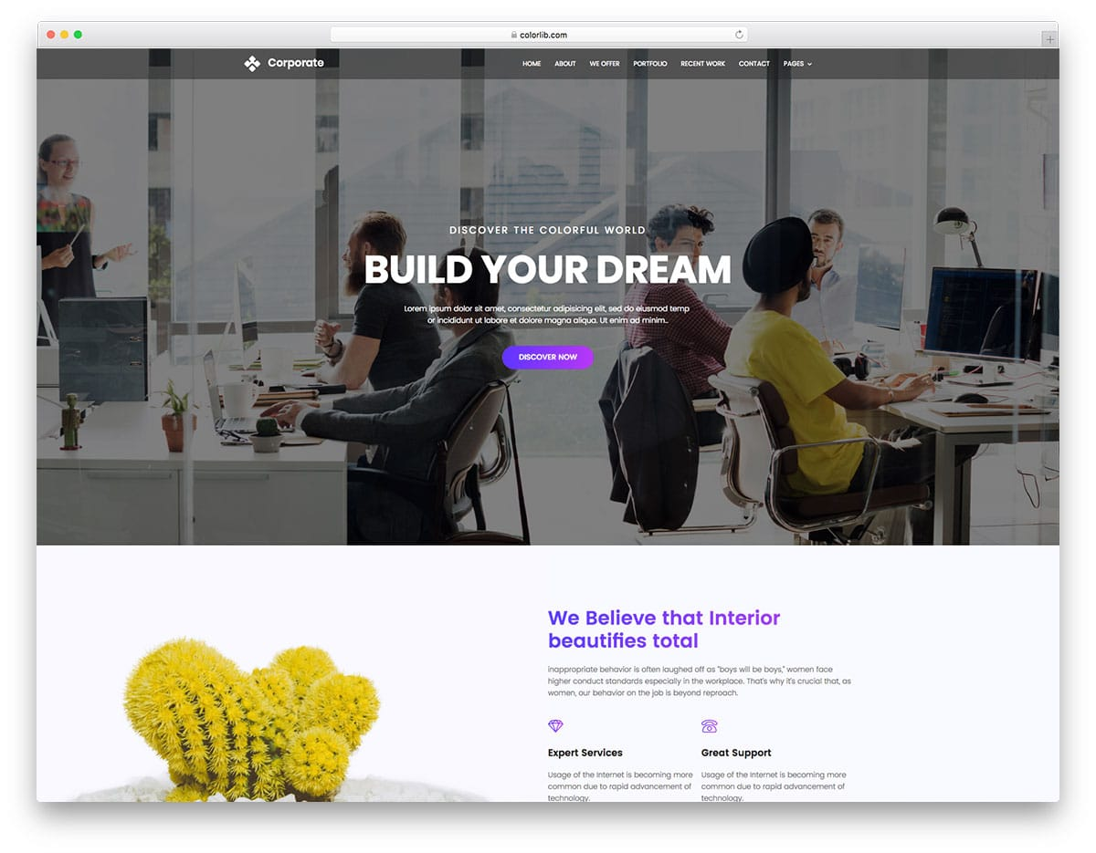 corporate-free-fitness-website-templates