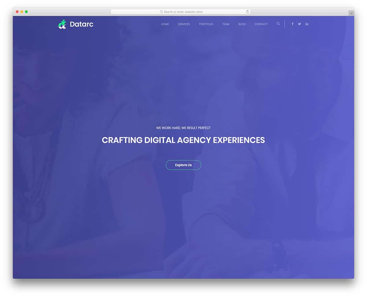 datarc-free-construction-website-templates