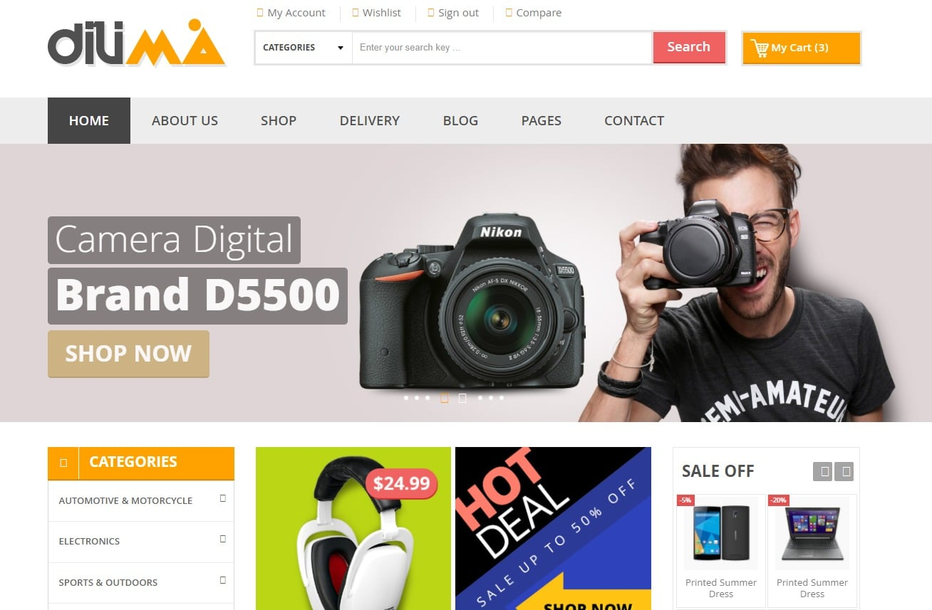dilima-ecommerce-website-html-templates