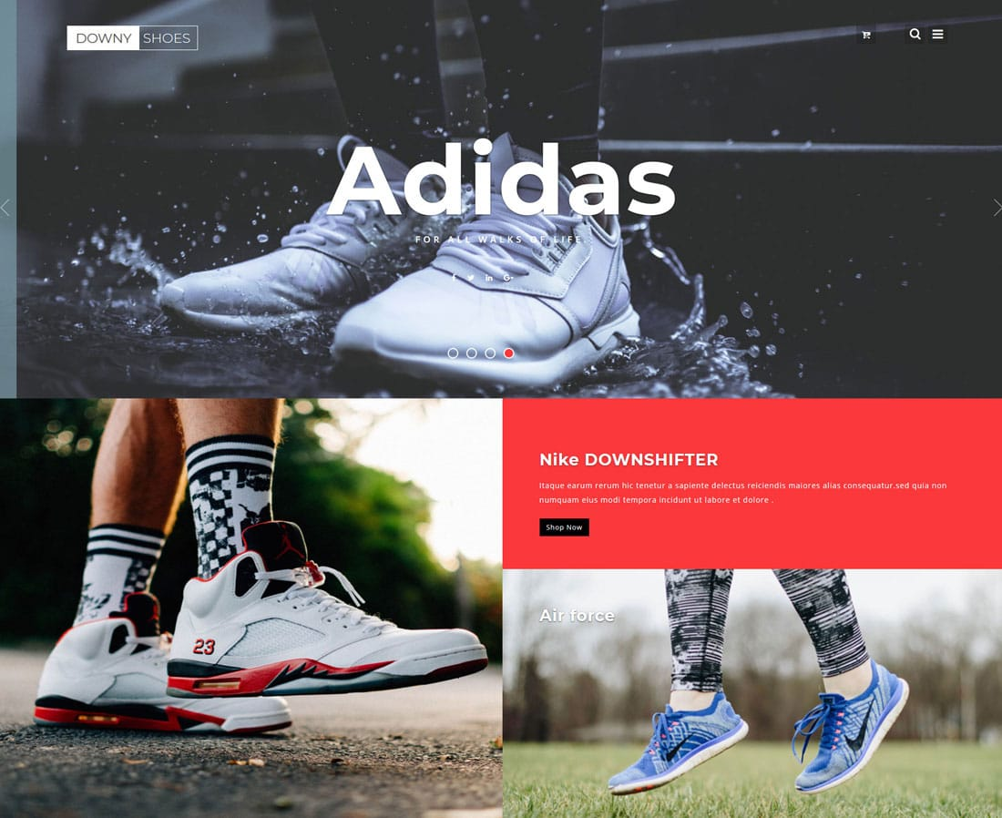 downy-shoes-free-ecommerce-website-templates