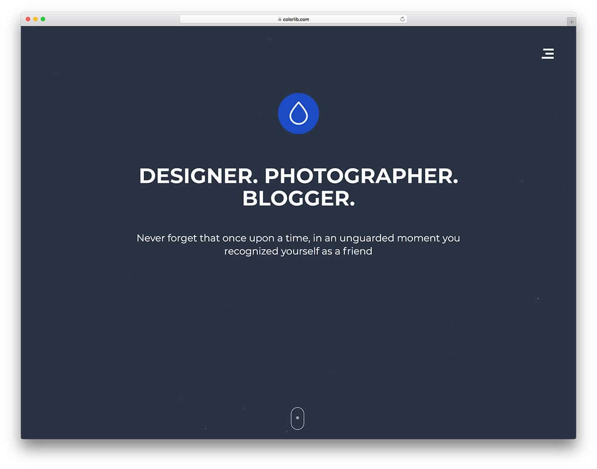 droppler-free-photography-website-templates