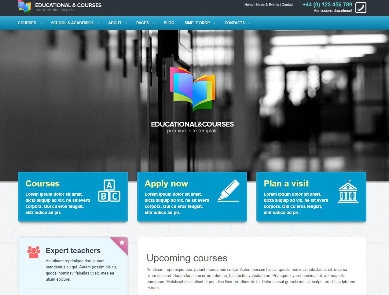 20 Amazing Education Website Templates for College & Universities!