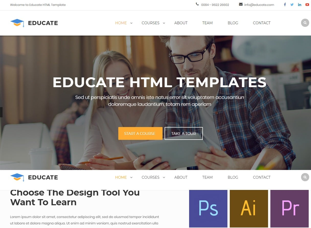 educate-html-education-website-template