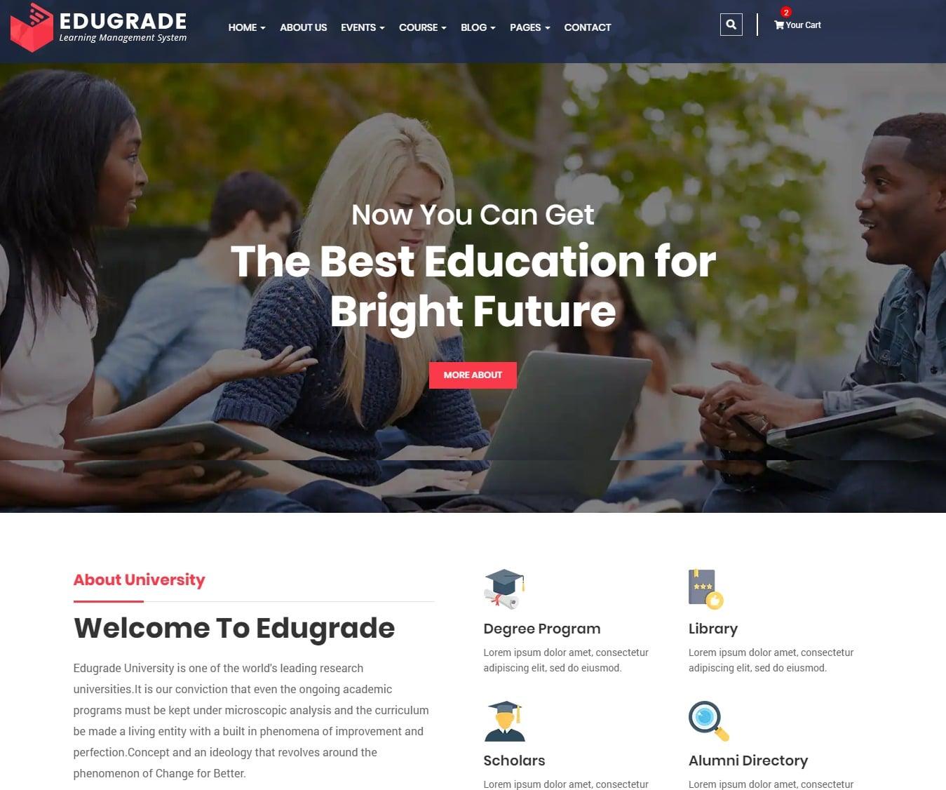 edugrade-education-website-template