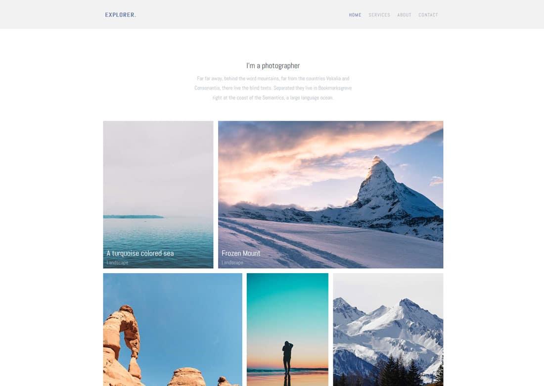 explorer-free-travel-website-templates